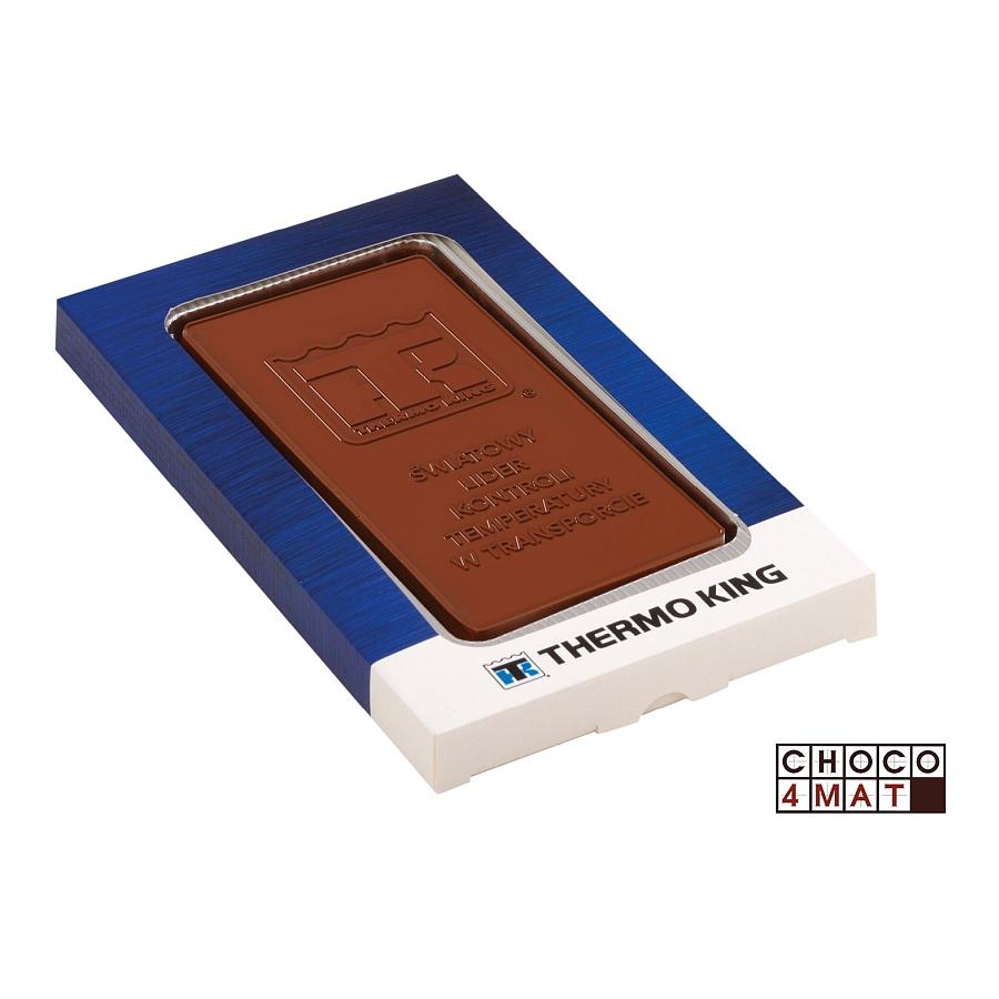 CHOCOLATE CALENDAR CARD