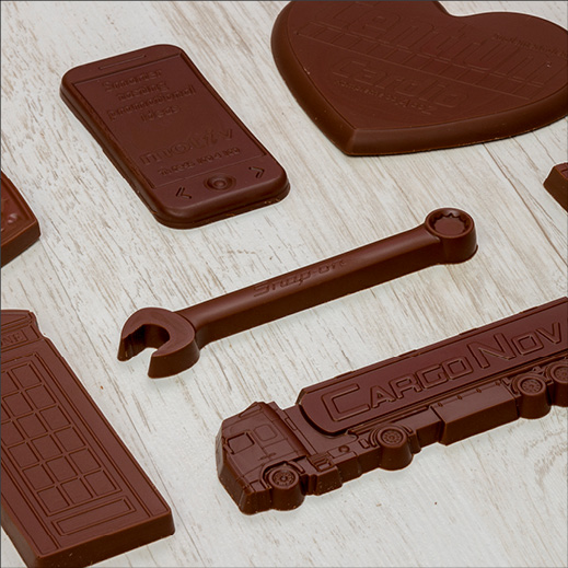 Chocolates In Different Shapes