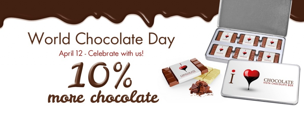 World Chocolate Day - April 12 - Celebrate with us!