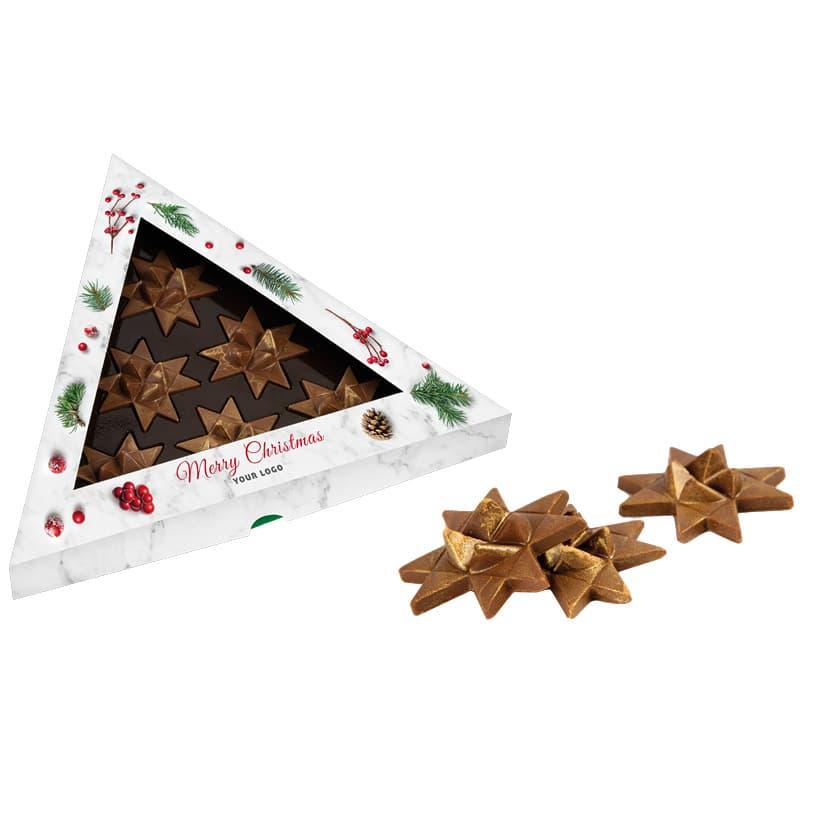 6 CHOCOLATE STARS