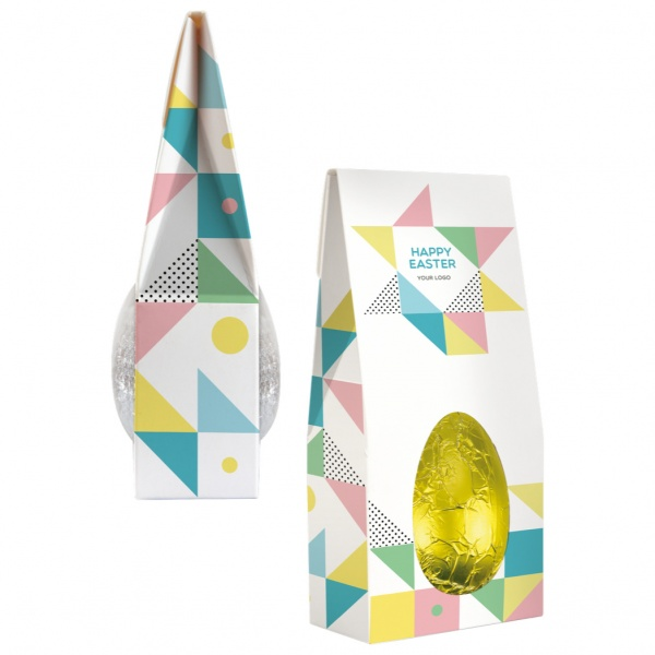 CHOCOLATE EGG IN A BOX
