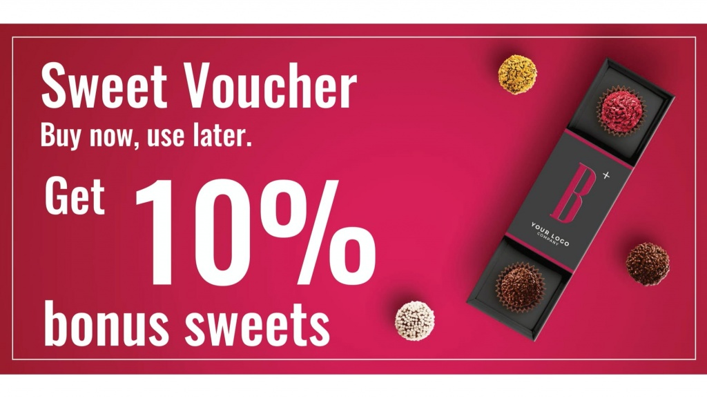 Sweet Voucher - buy now, use later!